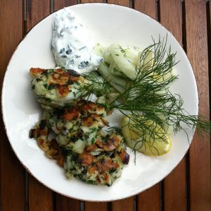 fish-kebab-with-fresh-fennel-salad-and-home-made-yogurt